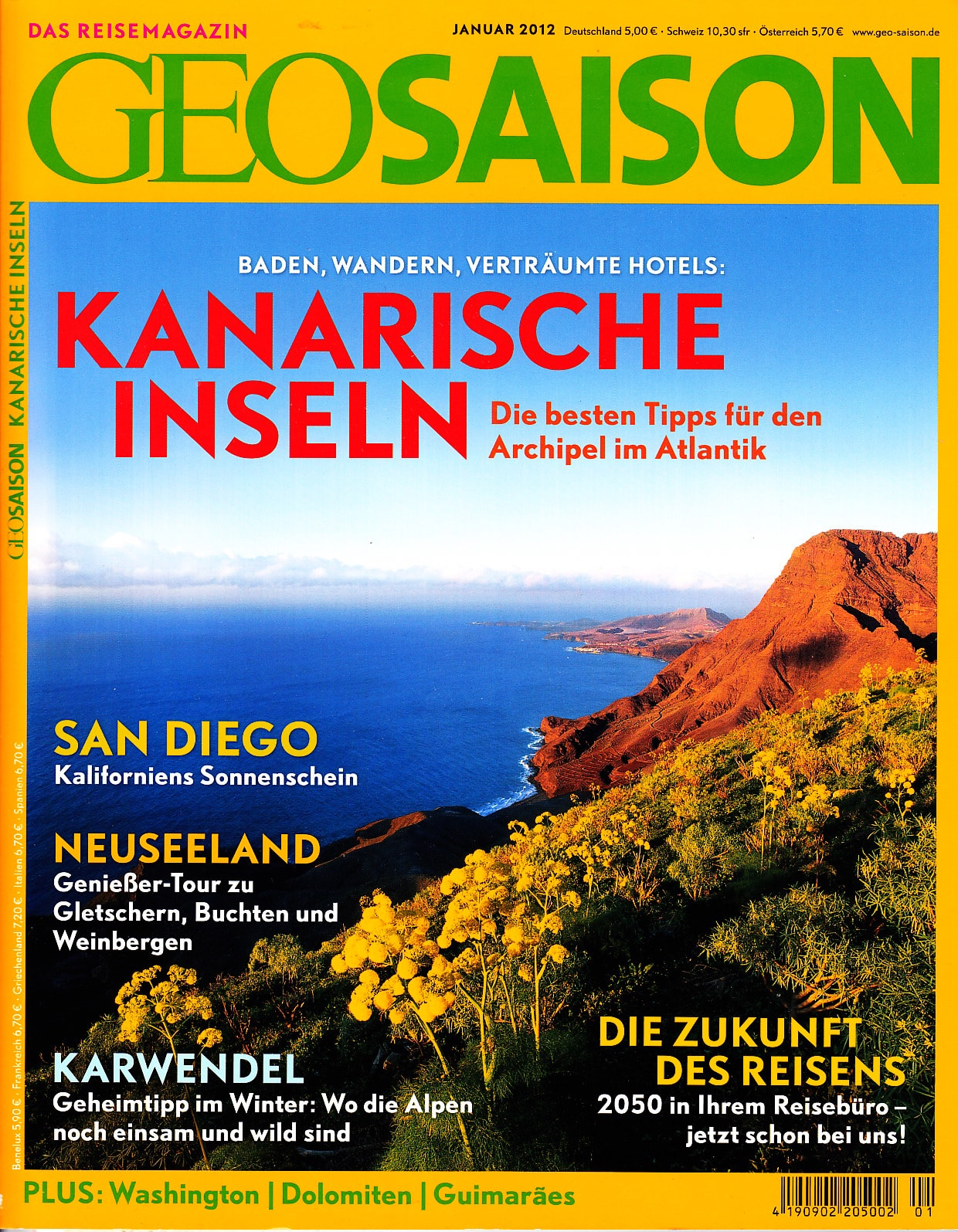 Geo Saison Januar 2012